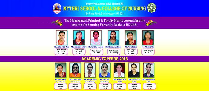 Mythri College of Nursing Shivamogga