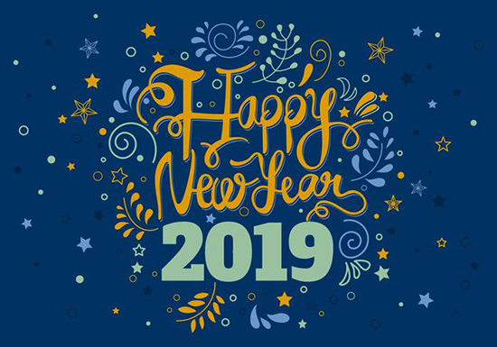 happy new yr 2019